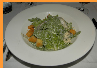 Caesar Salad - Winston Restaurant, Mt. Kisco, NY - photo by Luxury Experience