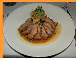 Duck at Winston Restaurant - Mt. Kisco, NY, USA - photo by Luxury Experience