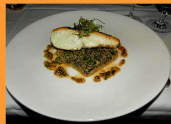 Halibut - Winston Restaurant, Mt. Kisco, NY - photo by Luxury Experience