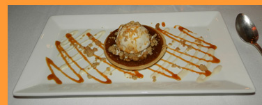 Pumpkin Tart - Winston Restaurant, Mt. Kisco, NY - photo by Luxury Experience