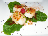 Xtabay Restaurant - Ceiba del Mar Beach & Spa Resort - Scallops