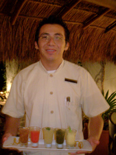 Xtabay Restaurant - Ceiba del Mar Beach & Spa Resort - Weynab Cristobal and Sorbets