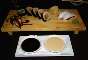 B-52's, Fresh Water Eel, Octopus at Restaurant Yamada, Mont-Tremblant, Canada - Photo by Luxury Experience