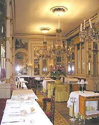 Ristorante del Cambio dining room