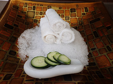 Atlantis Casino Resort Spa - Cucumber Slices - photo by Luxury Experience