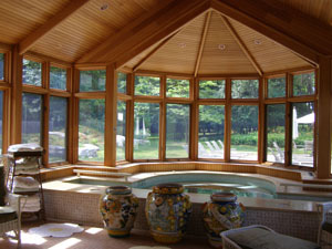 Hot Tub - The Potting Shed at Blantyre, Lenox, Massachusetts, USA