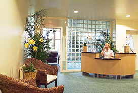 Spa at Bovey Castle Reception Desk