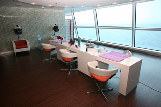 Celebrity Cruises - Eclipse - Salon at AquaSpa