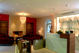 USPA Eye Mask Application - The Spa at Dunbrody, Dunbrody Country House Hotel & Restaurant, Co. Wexford, Ireland