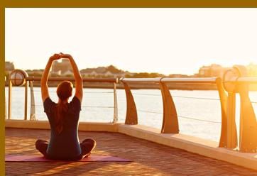 Waerfront Exhale Power Yoga - Exhale Spa and Fitness Center - Battery Wharf Hotel, Boston, MA, USA