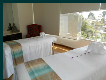 Couples Massage Treatment room - Germaine de Capuccini Spa - Grand Miramar Puerto Vallarta, Mexico - photo by Luxury Experience