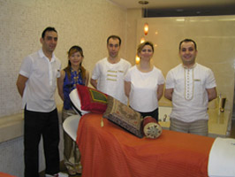 Laveda Spa team at The Ritz-Carlton Istanbul