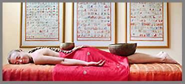 Massage Table - Mahasukha Spa at Menla Mountain Retreat - Phoenicia, NY, USA