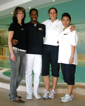 Palace SPA Hotel Palace Berlin, Germany - Spa Team