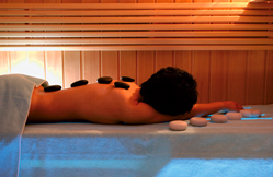 Panorama Spa & Health Club, Kulm Hotel St. Moritz, Switzerland - Hot Stone Therapy