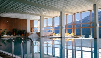 Panorama Spa & Health Club, Kulm Hotel St. Moritz, Switzerland - Panorama Indoor Pool