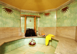 Panorama Spa & Health Club, Kulm Hotel St. Moritz, Switzerland - Salt Water Grotto