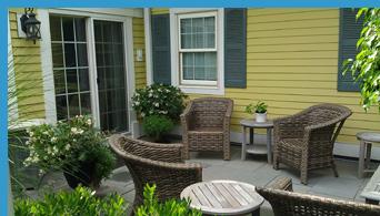 Sanno Spa Garden - Saybrook Point Inn & Spa, Old Saybrook, CT, USA - photo by Luxury Experience