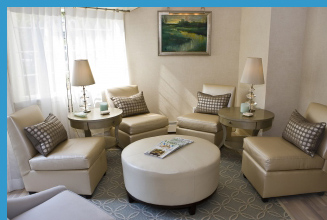 Sanno Spa relaxation room - Saybrook Point Inn & Spa, Old Saybrook, CT, USA