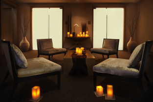 Relaxation Lounge - The Spa at Trump Chicago