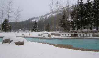 Spa at Squaw Creek, Olympic Valley, CA, USA - Heated Pool - Photo by Luxury Experience