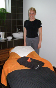 Therapist from Spa at Torekov Hotell, Torekov, Sweden