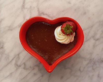 Chocolate Pots de Creme from Chantilly, France - A Baker's Passport - Sussie Norris