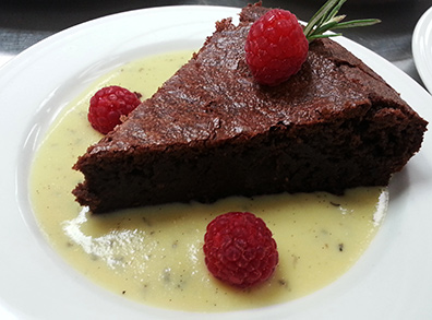 Truffle French Chocolate Bistro Cake - Chef Susi Gott Seguret