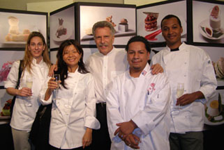 Battman with Chefs who participated in Color of Desserts by Battman