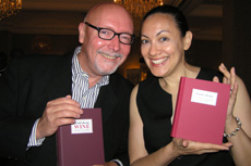 Authors James Waller and Ramona Ponce at Tales of the Cocktail 2006