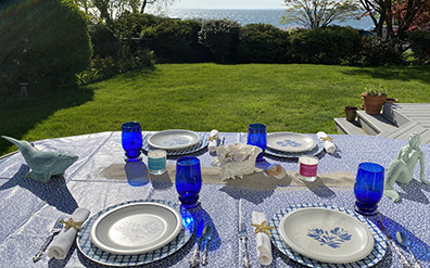 Hamptons Handpoured - Table Set - Photo by Luxury Experience