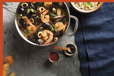 Malabar Mixed Seafood Curry - ©2017 by the American Diabetes Association, Inc.