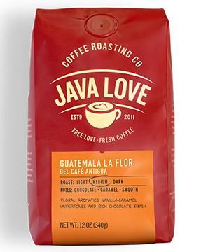 Java Love Coffee - Guatemal La Flor Del Cafe