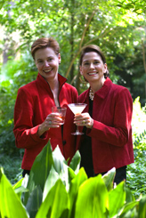 Ti Adelaide Martin and Lally Brennan - In the Land of Cocktails, Recipes and Adventures From The Cocktail Chicks Book