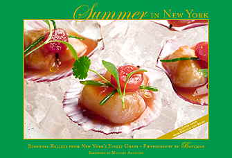 Summer in NY seasonal recipes from New York's finest Chefs