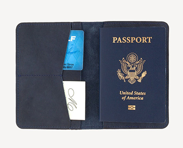 Slate Collection - Sand Point Passport Holder