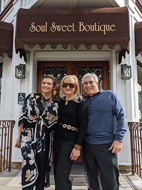 Soul Sweet Boutique, Newark, NJ - Thatiana Rangel, Debra C. Argen, Edward F. Nesta - photo by Luxury Experience