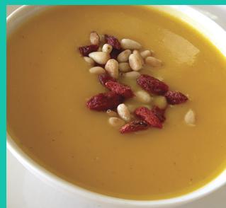 Butternut Squash Soup - by Corinne Trang