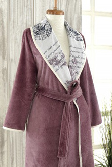 Thirsty Towels - Eco Robe - Mauve