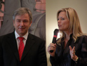 Klaus Wowereit and Nina Ruge