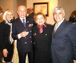 Debra, Milos Knor, Jamila Vogel, and Edward