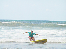 Ed Surfing in Brazil