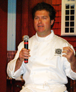 Joel Thevoz of Main Event Caterers