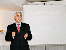 Edwad F. Nesta presenting at Unisy Conference