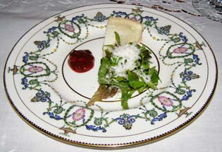 Cheese Course - Blantyre, Lenox, Ma - Photo by Luxury Experience