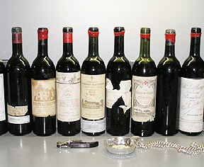 1955 Bordeaux Wines at Tasting