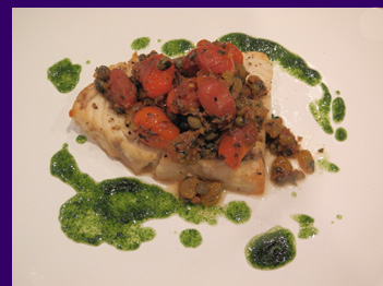 Luxury Experience - Swordfish with Tomato Confit - photo by Luxury Experience
