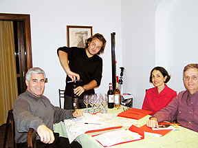 Chianti Classico Lesson at Il. Borgo