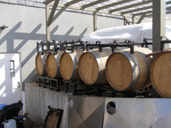 Barrels at Gouveia Vineyard - Photo by Luxury Experience