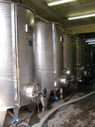 Stainless Steel Tanks at Gouveia Vineyard - Photo by Luxury Experience